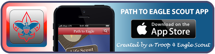 Download the Path to Eagle Scout App